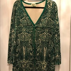 Juicy Couture velour printed swim cover up!