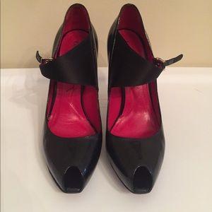 Cesare Paciotti Shoes - Cesare Paciotti black leather heels