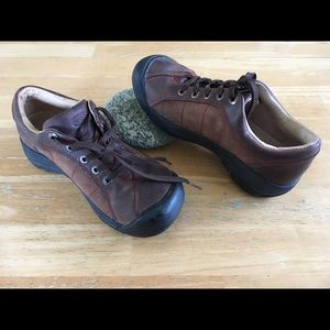 Keen Shoes - Keen Women's Hiking Boots Brown Leather size 6.5