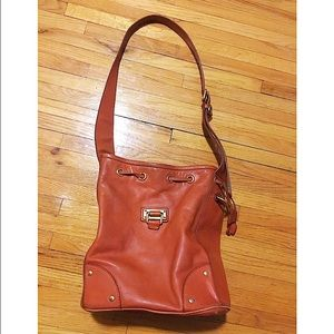 Marc by Marc Jacobs Handbags - Marc by Marc Jacobs cognac leather bucket bag