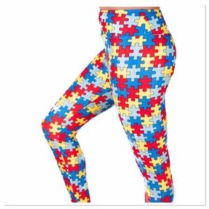 LuLaRoe Pants - $29 COMING SOON! Autism Awareness Puzzle Leggings