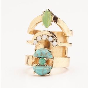 Free People Jewelry - NWT Free People Rising Tide Ring