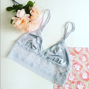 aerie Other - Light Blue Lace Bralette