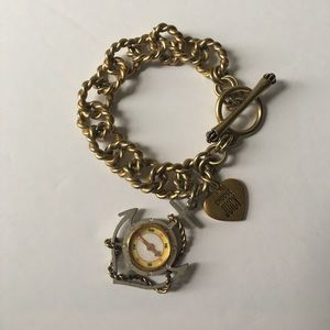 Juicy Couture Jewelry - Nautical Anchor & Compass Bracelet