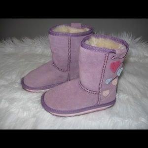 Emu Other - Emu Suede Fur Lined Boots