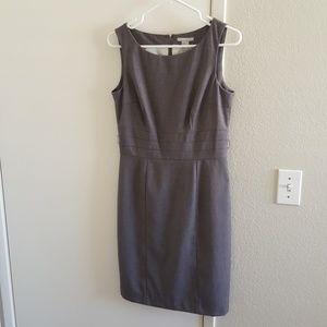 H&M work dress grey size 8.