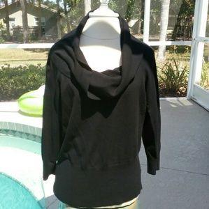 White House Black Market Sweaters - White House Black Market Cowl Neck Sweater