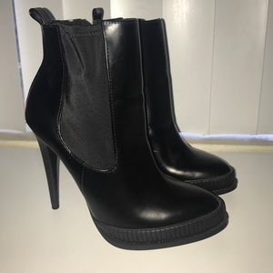 Zara Heeled Ankle Boots