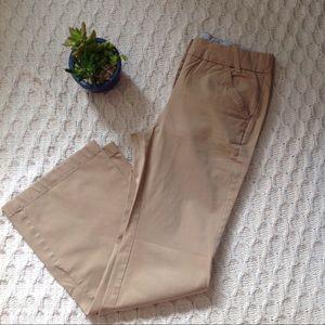 Lands' End Pants - Lands' End Khaki Stretch Waist Pants