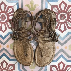 Cynthia Vincent Shoes - CYNTHIA VINCENT GLADIATOR SANDALS SIZE 10