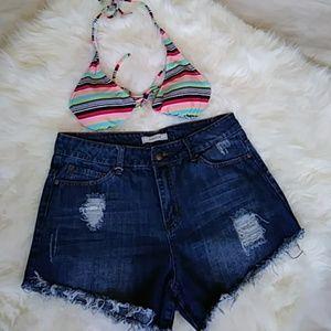 Adam Levine Collection Pants - Distress Shorts