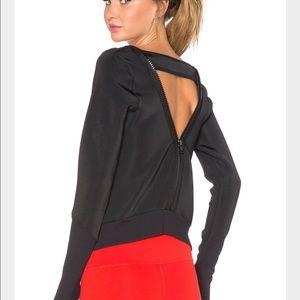 Splits59 Tops - Splits59 Quinn Noir long sleeve pullover