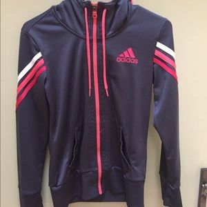 Adidas Zipper Up