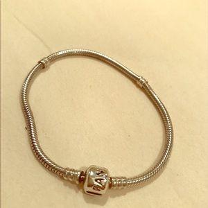 Pandora Jewelry - Genuine Pandora Bracelet Sterling Silver