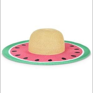 Accessories - WATERMELON BRIM HAT-NEW WITH TAG.