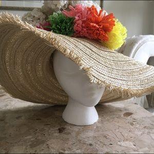 San Diego Hat Company Accessories - Floppy straw Beach hat