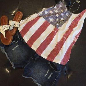 Wallflower Pants - 🇺🇸DISTRESSED JEAN SHORTS🇺🇸