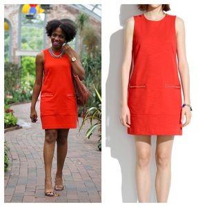 Madewell / Zip shift dress