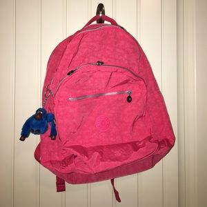 Kipling Handbags - Kipling • Pink backpack!