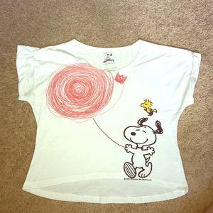 Cute Charlie Brown crop top