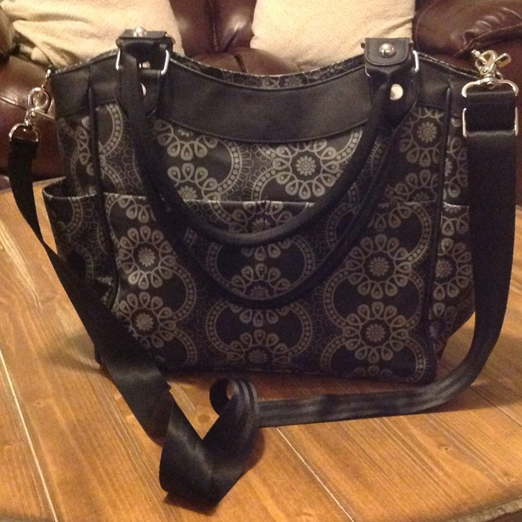 64 off petunia pickle bottom handbags like new petunia pickle bottom diaper bag from andrea 39 s. Black Bedroom Furniture Sets. Home Design Ideas
