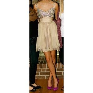 La Femme cocktail/prom/homecoming dress