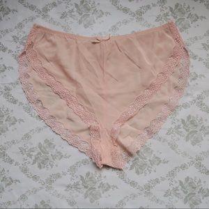 La Perla Other - La Perla pink panty sz 2 ( S ) pure Silk
