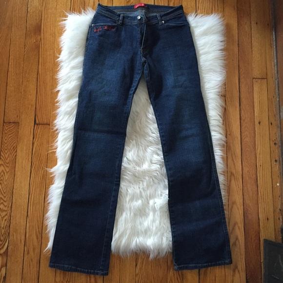 Apple bottom blue jeans