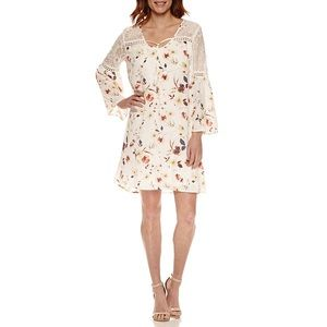 a.n.a Dresses & Skirts - A.N.A Bell Sleeve Shift Dress