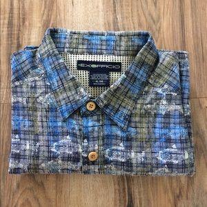 Exofficio Other - Exofficio Men's Vented fish shirt Size XL Blue S/S