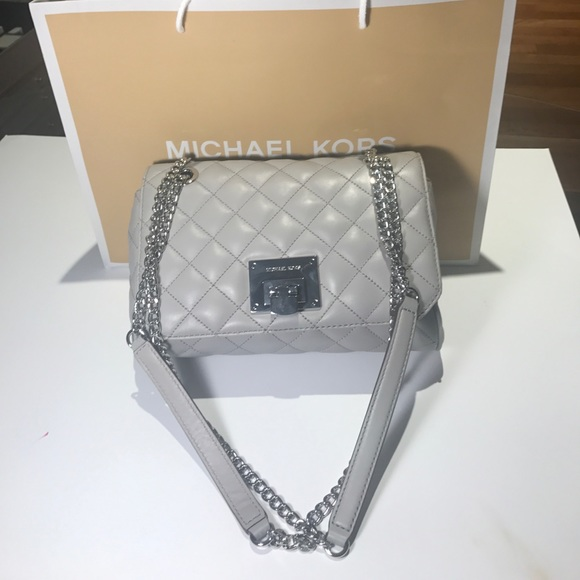 43db8cddda88 MICHAEL Michael Kors Bags | Michael Kors Vivianne Pearl Grey ...