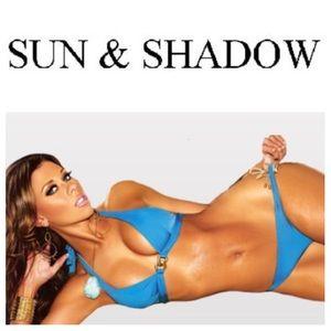 Sun and Shadow Other - LIKE NEW!  Sun and Shadow light blue bikini