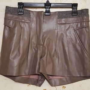Walter Baker Pants - Funk leather shorts