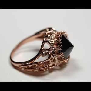 Bloodmilk Belonging To The Darkness Rose Gold Ring