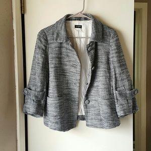 J crew grey jacket