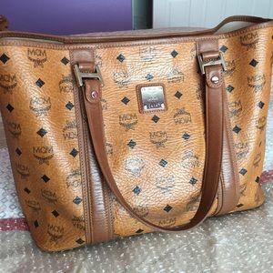 MCM Handbags - Auth MCM tote bag