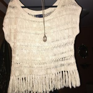 American Eagle Outfitters Sweaters - American Eagle boho short-sleeve top