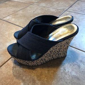 Jennifer Lopez Shoes - Denim Wedges