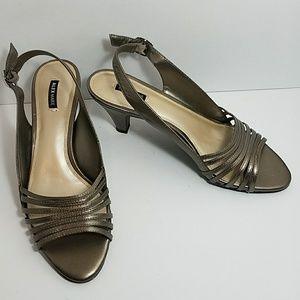 Alex Marie Shoes - Alex Marie metallic bronze strappy sandals