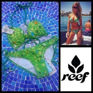 Reef Other - NEW!  Reef 'Vineyard' string bikini top & bottoms