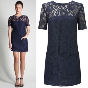French Connection Dresses & Skirts - French Connection Lace Pocket Shift Dress