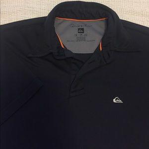 Quiksilver Other - Men's - Quiksilver black polo shirt