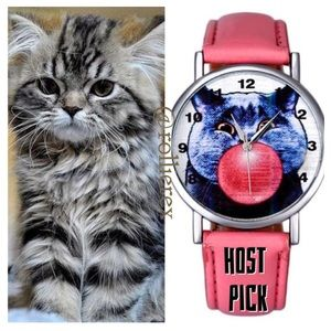 Accessories - Bubble Gum Kitty Watch