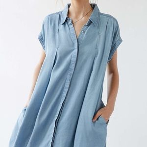 Cooperative Dresses & Skirts - Urban outfitters cooperative denim swing dress