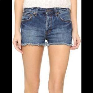 Madewell Pants - Madewell Mid Rise Cutoff Shorts, 27