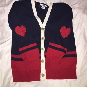 Hartstrings Other - Girls heart cardigan sweater