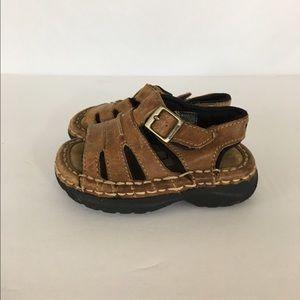 Bjorn Borg Other - Vintage Bjorn Infant Boy's SZ 5 Leather Sandals