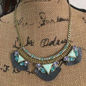 Silpada Jewelry - Silpada KR Posey Fringe Statement Bib Necklace
