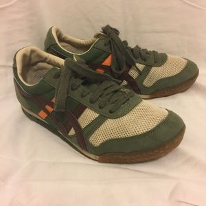 Onitsuka Tiger Other - Boys Army Green Sneakers