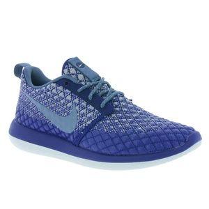 Nike Shoes - ⚡SALE⚡NWT Nike Roshe Two Flyknit 365 Blue Grey